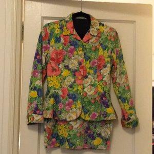 SAN FRANCISCO clothing co. FLORAL SUIT